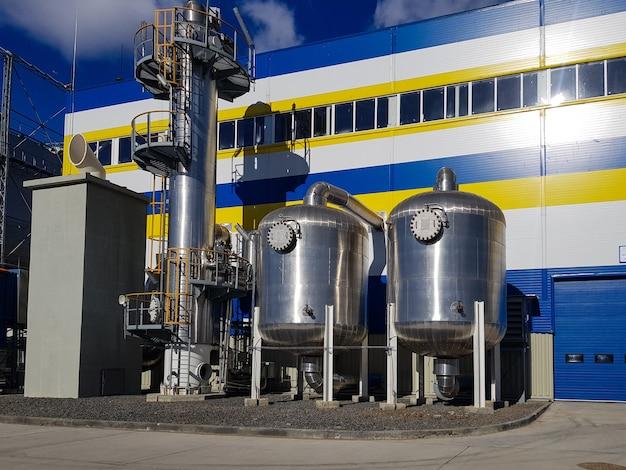 Produkcja azotu i tlenu z powietrza