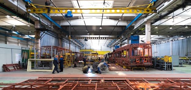 Produkcja produkcji autobusowej