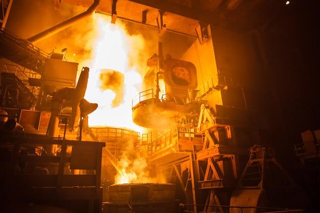 Produkcja stali w piecach elektrycznych
