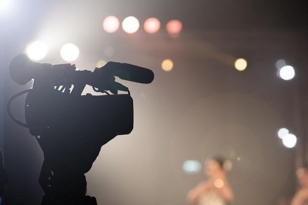 Produkcja wideo kamera społecznościowa filmowanie na żywo