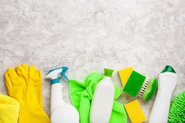 Produkty czyszczące chemia gospodarcza rękawica z pędzelkiem w sprayu