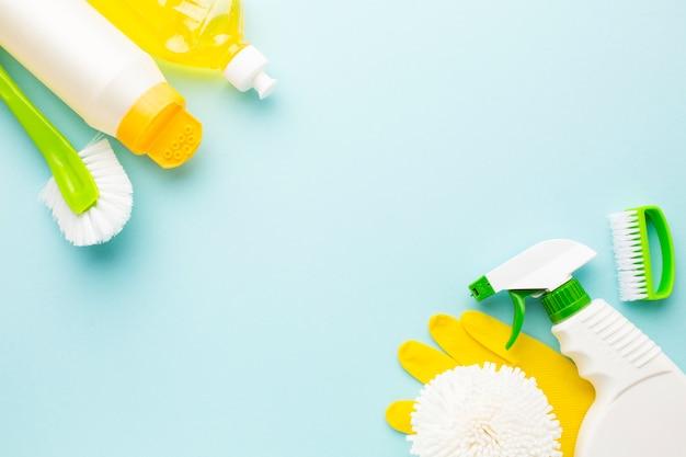 Produkty dezynfekujące z miejscem na kopię