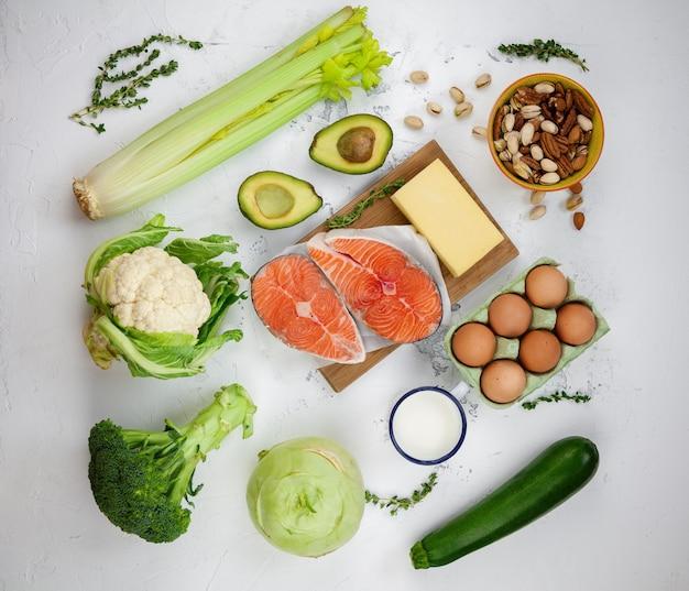 Produkty dietetyczne o niskiej zawartości węglowodanów