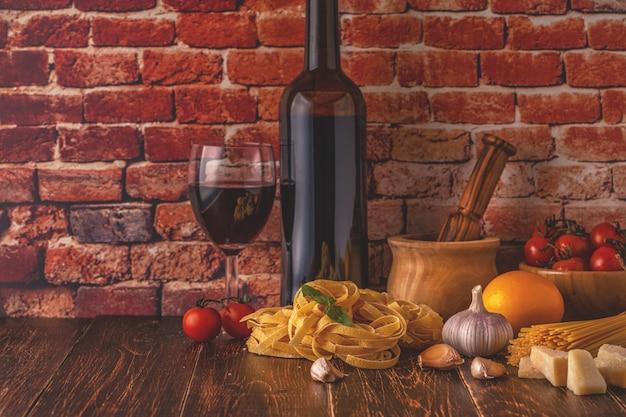Produkty do gotowania potraw włoskich