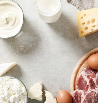 Produkty mleczne i jaja