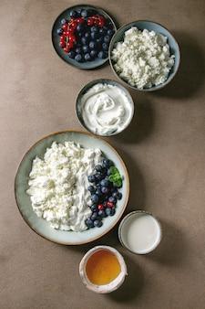 Produkty mleczne na śniadanie