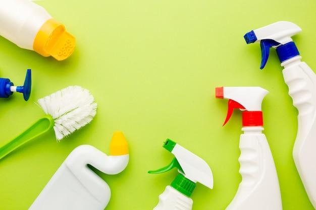 Produkty sanitarne z miejsca na kopię