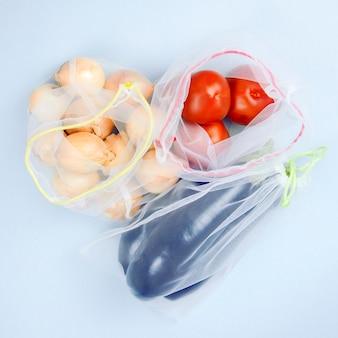 Produkty, warzywa w mechach spożywczych