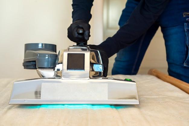 Profesjonalne maszyny do dezynfekcji materacy, odstraszacz wirusów, bakterii, roztoczy, pleśni