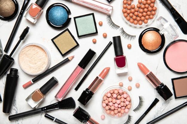 Profesjonalne pędzle do makijażu i narzędzia, zestaw produktów do makijażu