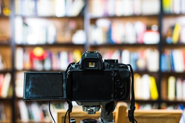 Profesjonalny aparat gotowy do użycia