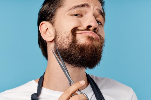 Profesjonalny fryzjer męski salon kosmetyczny