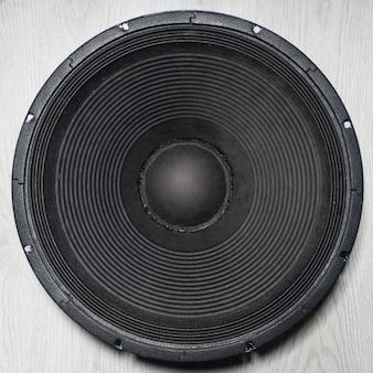Profesjonalny głośnik niskotonowy 18 cali biały, izolowany