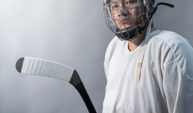Profesjonalny hokej na lodzie poczuj się zły