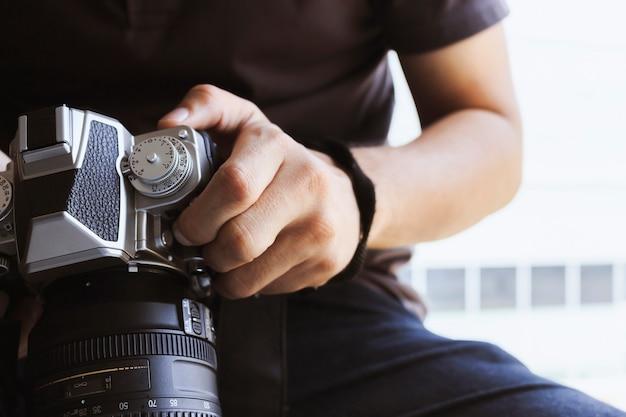 Profesjonalny koncentrator fotografa