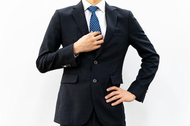 Profesjonalny mężczyzna w garniturze