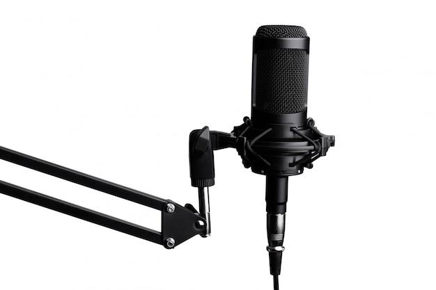 Profesjonalny mikrofon pojemnościowy studyjny