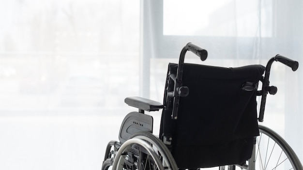 Profesjonalny wózek inwalidzki z bliska