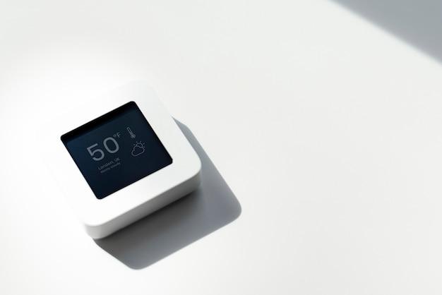 Prognoza pogody na monitorze automatyki domowej