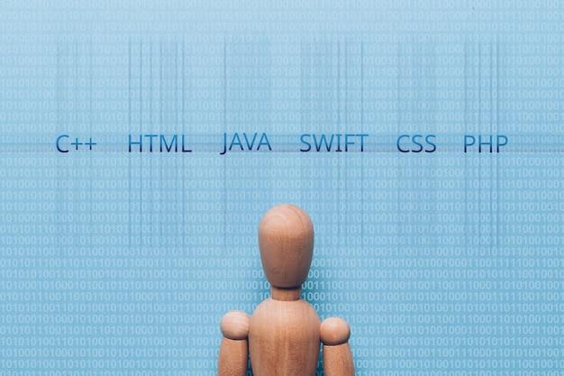 Programowanie w popularnym języku przez osobę abstrakcyjną.