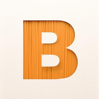 Projekt czcionki, abstrakcyjna czcionka alfabetu z fakturą drewna, realistyczna typografia drewna - b