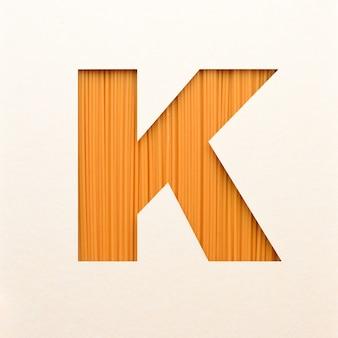 Projekt czcionki, abstrakcyjna czcionka alfabetu z fakturą drewna, realistyczna typografia drewna - k.