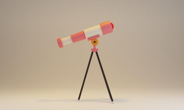 Projekt renderowania 3d teleskopu gwiezdnego
