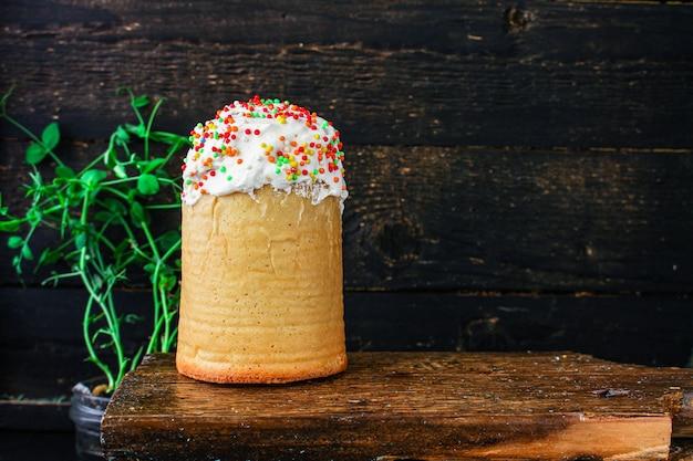 Projekt świąteczny tort wielkanocny