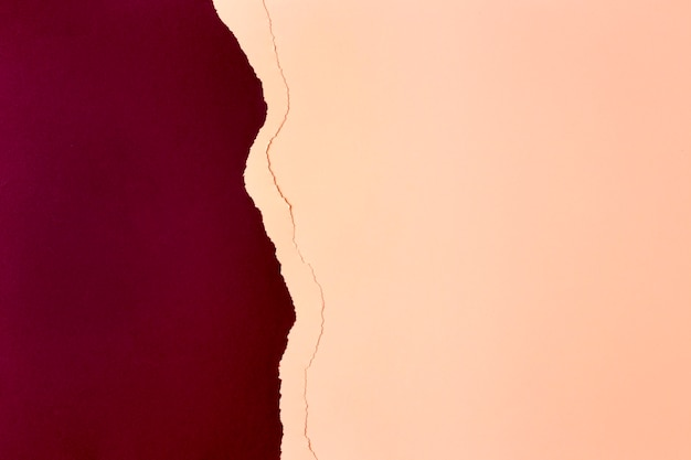 Projekt tła papieru czerwony i brzoskwiniowy