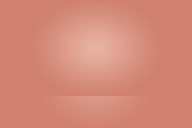 Projekt Układu Streszczenie Gładkie Pomarańczowe Tło, Studio, Pokój, Szablon Sieci Web, Raport Biznesowy Z Kolorem Gradientu Gładkiego Koła. Premium Zdjęcia