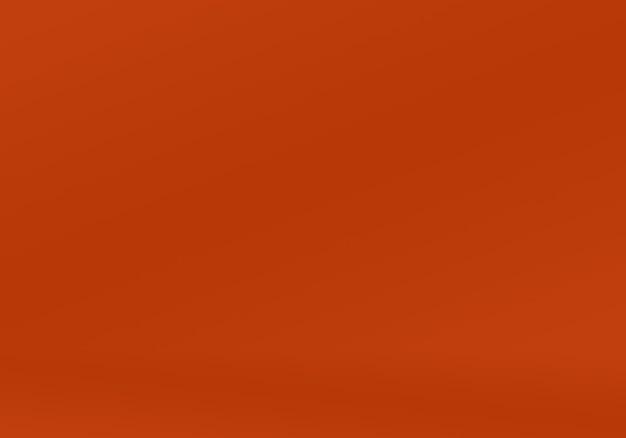Projekt układu streszczenie gładkie pomarańczowe tło, studio, pokój, szablon sieci web, raport biznesowy z kolorem gradientu gładkiego koła.