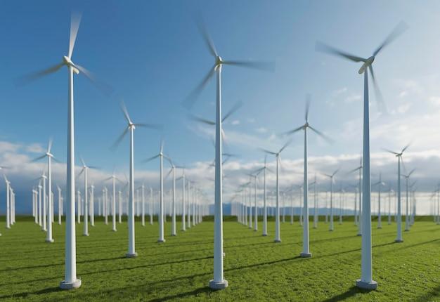 Projekt wiatraka 3d