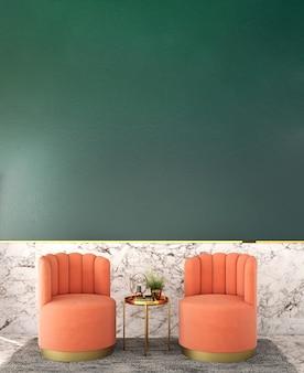 Projekt wnętrza salonu w stylu klasycznym
