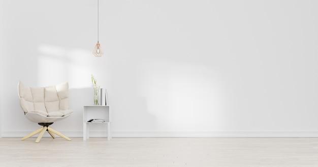 Projekt wnętrza salonu