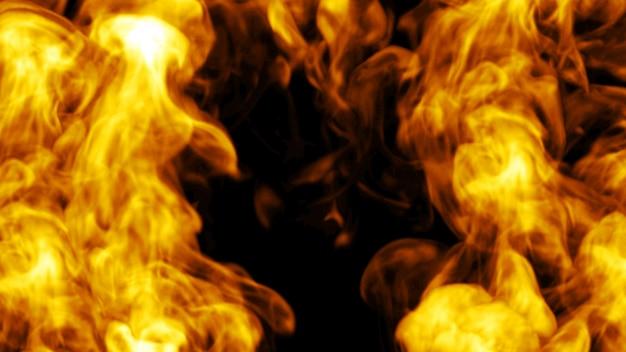 Projektowanie ognia. 3d ilustracji.