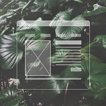 Projektowanie stron internetowych szablon interfejsu użytkownika przestrzeń kopiowania