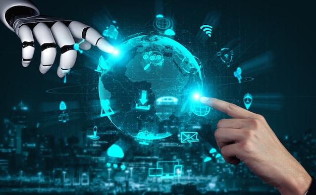 Projektowanie technologii cyfrowej eksploracji danych i uczenia maszynowego dla mózgu komputera.