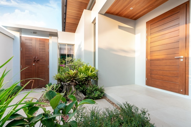 Projektowanie wnętrz wejście do domu