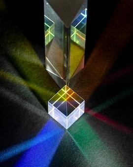 Promienie świetlne w dużym polu widzenia