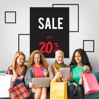 Promocja rabatowa rozliczenie handlowe koncepcja transakcji commercial