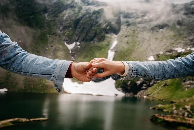 Propozycja małżeństwa w górach