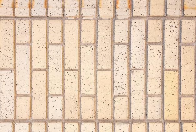 Proste ceglane ściany tło