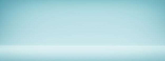 Prosty szeroki niebieski vintage gradient streszczenie tło szeroki transparent tło