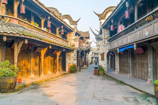 Prowincja wody chińska architektura kraju chiny