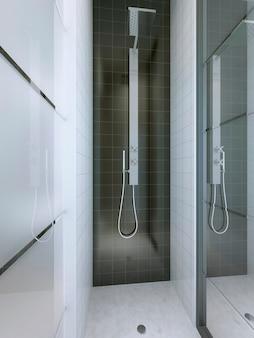 Prysznic w minimalistycznym stylu