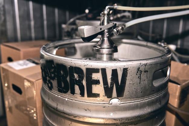 Prywatny browar produkuje urządzenia do piwa rzemieślniczego do przygotowania chłodni piwnej pubu