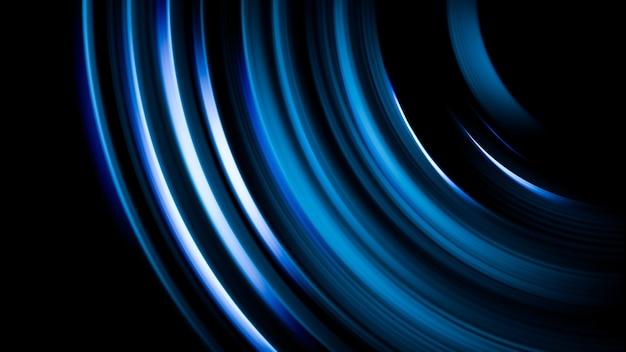Pryzmatyczne rozbłyski światła nakładają się na czarne rozmyte tło