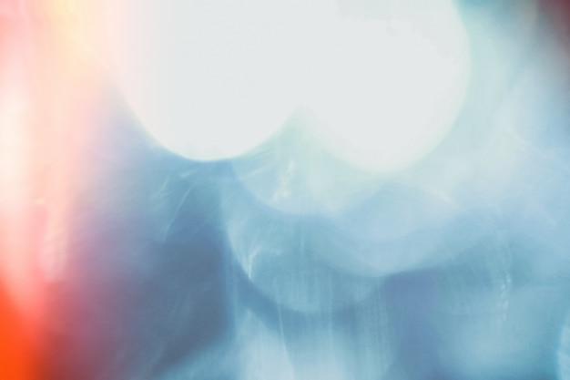 Przeciek światła streszczenie bokeh nakładki tła