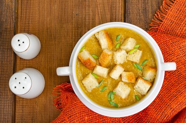 Przecier z warzyw z bułką tartą zdrową żywnością