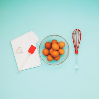 Przedmioty do gotowania ciasteczek